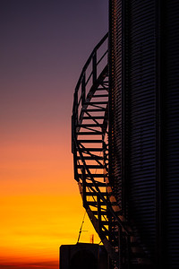 Sunset Stairway