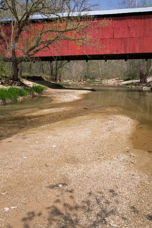 Sugar Mill Creek and Bridge