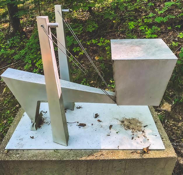 Sculpture Trails Outdoor Museum in Solsberry Indiana