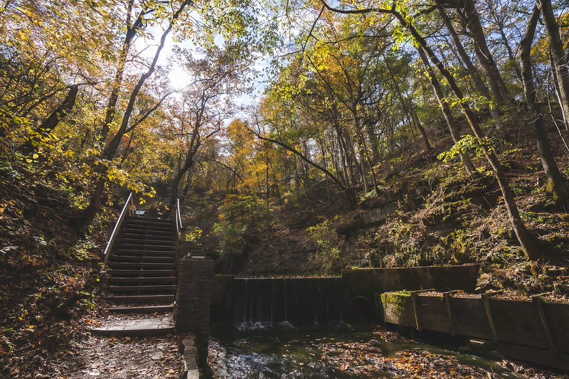 Spring Mill State Park in Mitchell Indiana