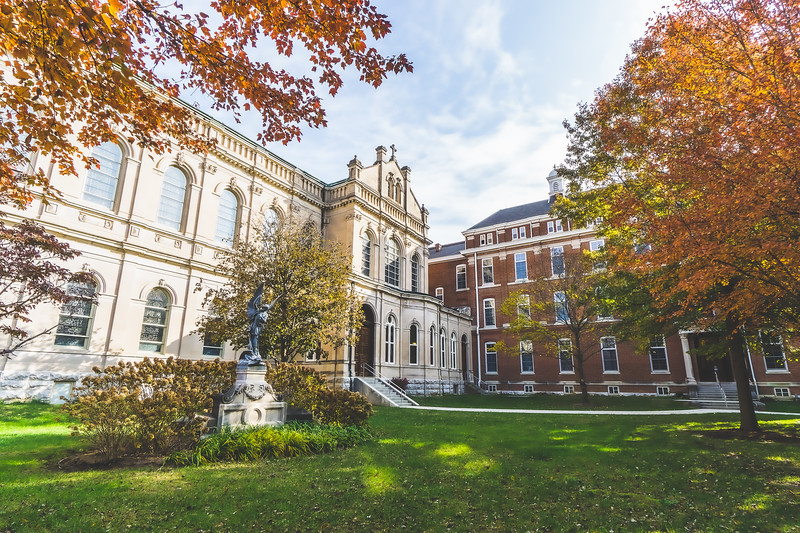 St. Mary of the Woods College Campus in West Terre Haute Indiana