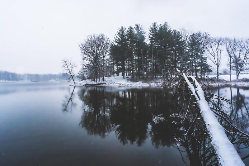 Sullivan County Park and Lake in Sullivan Indiana