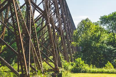 Tulip Viaduct in Greene County Indiana