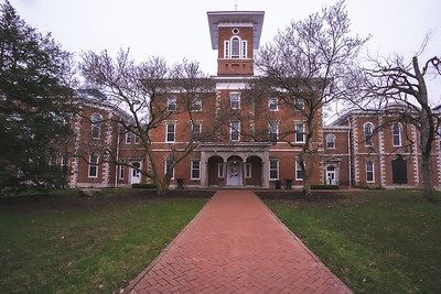 Center Hall on Wabash College in Crawfordsville Indiana