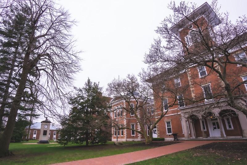 Wabash College Campus in Crawfordsville Indiana