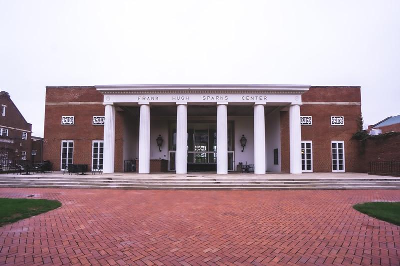 Frank Hugh Sparks Center on Wabash College in Crawfordsville Indiana