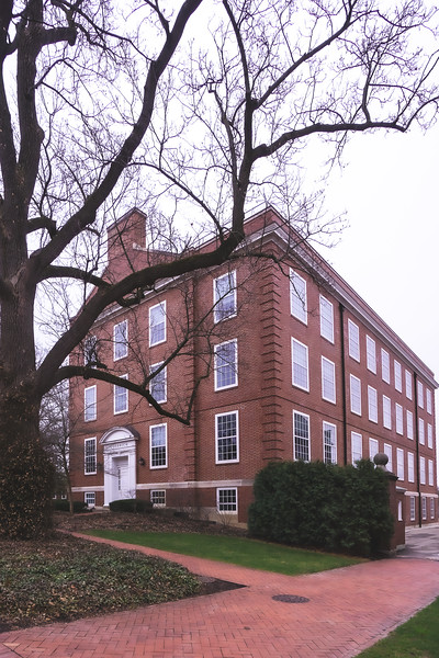 Goodrich Hall on Wabash College in Crawfordsville Indiana
