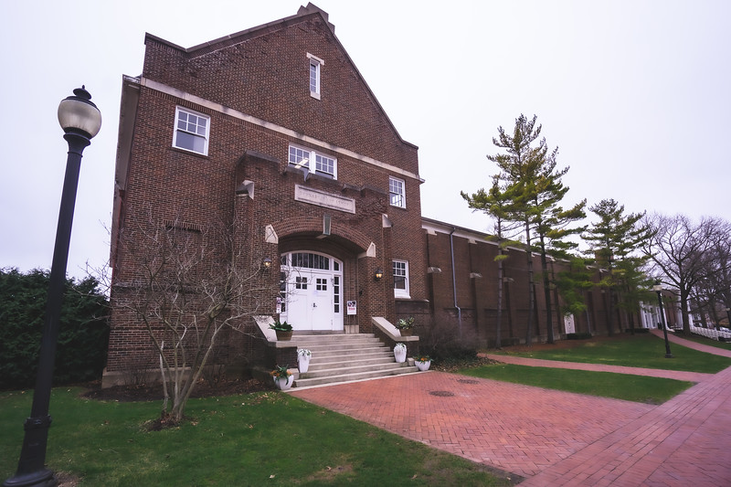Armory and Gymnasium on Wabash College in Crawfordsville Indiana