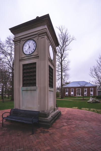 Wabash College Campus in Crawfordsville Indiana