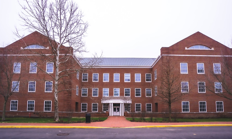 Hays Hall on Wabash College in Crawfordsville Indiana