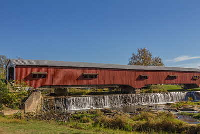 Bridgeton Covered Bridge in IN
