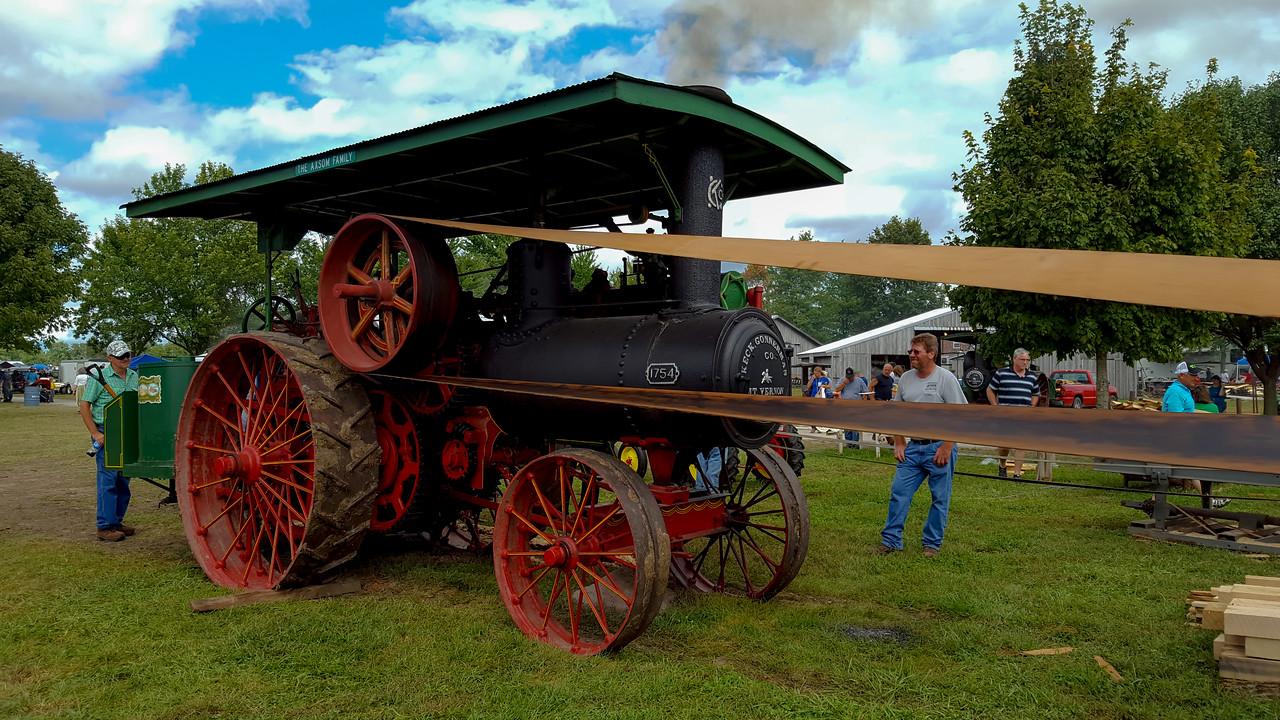 Steam Engine at Elnora Festival