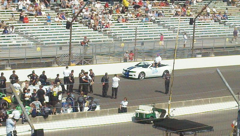 Pace Car w/AJ Foyt