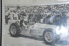 In the museum, in the 50th anniversary case, there was this 1958 picture of cousin Johnny Tompson.  He won the pole one year and his best finish at Indy was 2nd.