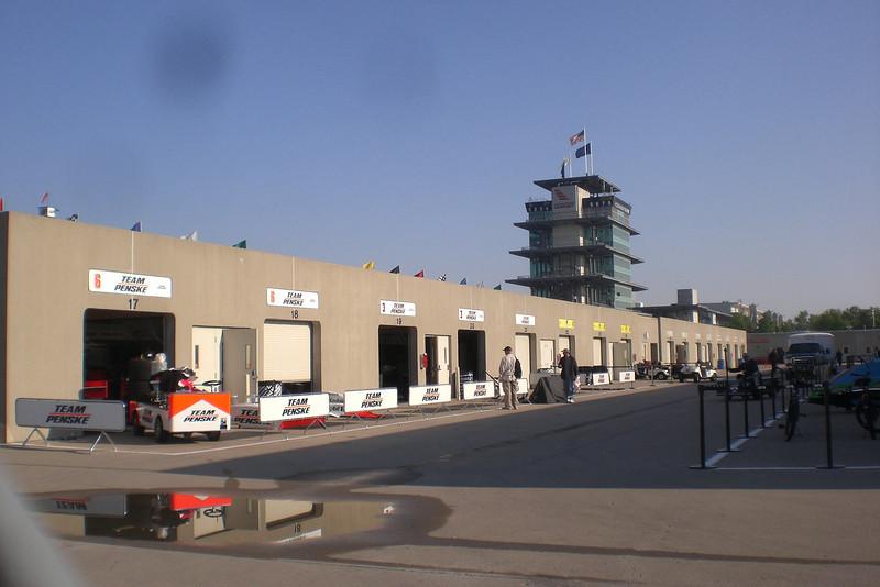 Saturday:  The garage area is pretty quiet