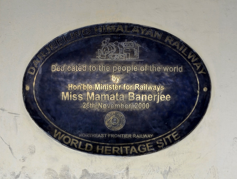 Darjeeling Himalayan Rly station, Darjeeling, Thurs 29 March 2012 1.