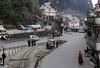 Darjeeling Himalayan Rly station, Ghum, Fri 30 March 2012 1.  Looking south towards Sonada and Kurseong.