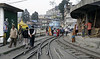 Darjeeling Himalayan Rly station, Darjeeling, Thurs 29 March 2012 2.  The line used to run beyond here into the bazaar.