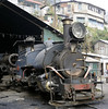 Darjeeling Himalayan Rly 0-4-0T Nos 791 & 804 Queen of the Hills, Kurseong shed, Tues 27 March 2012 2.