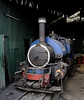Darjeeling Himalayan Rly 0-4-0T No 786, Kurseong shed, Tues 27 March 2012.  No 786 may be the real North British 16212 / 1904, but it carried no works plate when I took this photo.