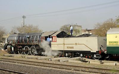Delhi - Alwar Steam Express