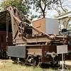 Bombay, Baroda & Central India Railway broad gauge 15 tom hand crane, Indian railway Museum, New Delhi, 24 March 2012 1.