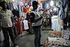 Chhatrapati Shivaji Terminus, Mumbai, Sat 17 March 2012 6.  Bazaar stall in subway to the station.
