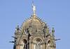 Chhatrapati Shivaji Terminus, Mumbai, Sat 17 March 2012 2.  A statue of Progress watches over...