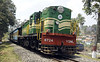 6724, Coornor, Wed 21 April 2012 - 1318.  The YDM4 brings in an Ooty - Mettupalaiyam train.