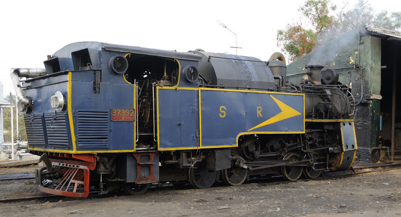 37392. Mettupalaiyam shed, Tues 20 March 2012.  Another 1952 Winterthur product.
