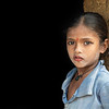 Young Girl, Doorway, Manvar