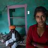 Girl and Man, Blue Room, Manvar
