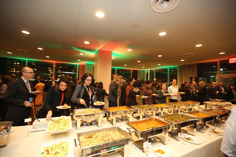 Reception at UN on 26th jan 2018,...pic Mohammed jaffer-snapsindia