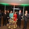 Republic day at United Nations by India Mssion -Lightning the lamp ata reeption held at Unted Nations on 26th jan 2018,,Ambassador Syed Akbaruddin and high lavel Diplomats and NY Lt Governer can be seen in pic....pic Mohammed Jaffer-snapsindia