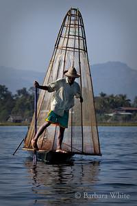 Fisherman On Lake Inle