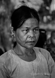 Tatooed Woman