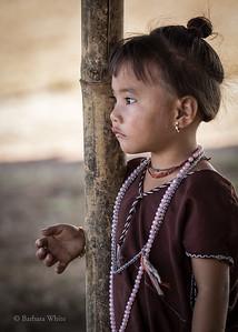 Pensive Little Karen Girl