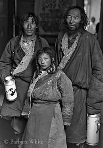 Pilgrims At The Potala Palace