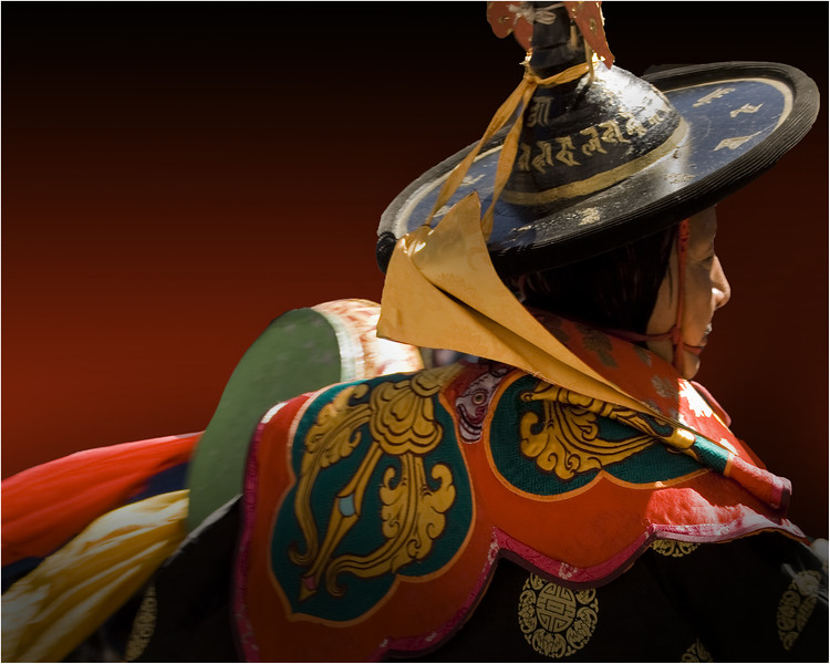 Dancer from Bhutan