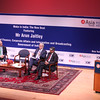 "Finance Minister Arun Jaitley  speaking on ' Make in India"" The New Deal at Asia Society in New York on 18th April 2016 ...pic Mohammed Jaffer-snapsindia"