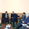 Finance minister Arun Jately  met  with Thiland H.E Generala  Paiboon Koomchaya Minister of Justice Kingdom of Thiland at UN on 19th April 2015......Mohammed Jaffer-Snapsindia