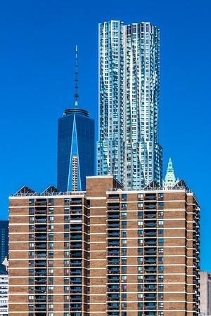 Freedom Tower & Beekman Tower