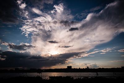 Sunset Cloudburst
