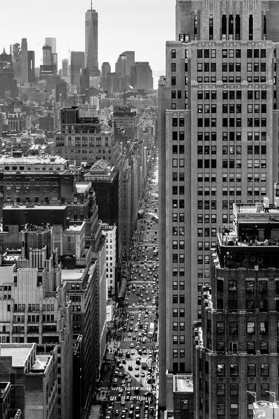 7th Avenue to the World Trade Center