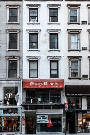Lexington Avenue Storefronts