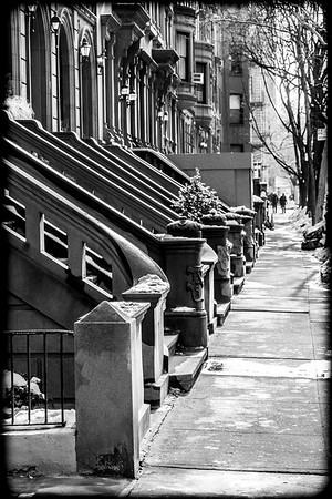 Winter Sidewalk