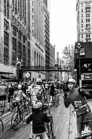 5 Boro Bike Tour Excitement