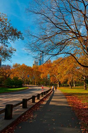 Central Park Jog