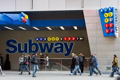 11 Times Square Subway