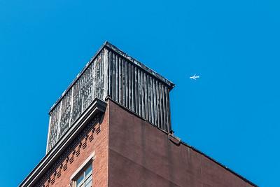 SoHo Building and Plane